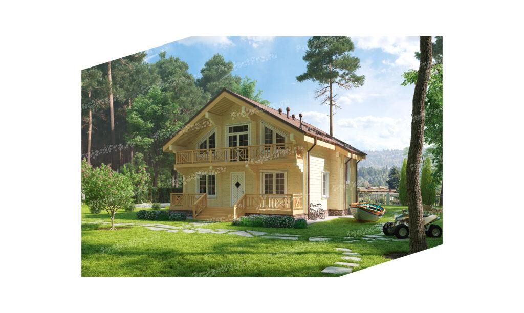 Проекты домов. Дом из бруса