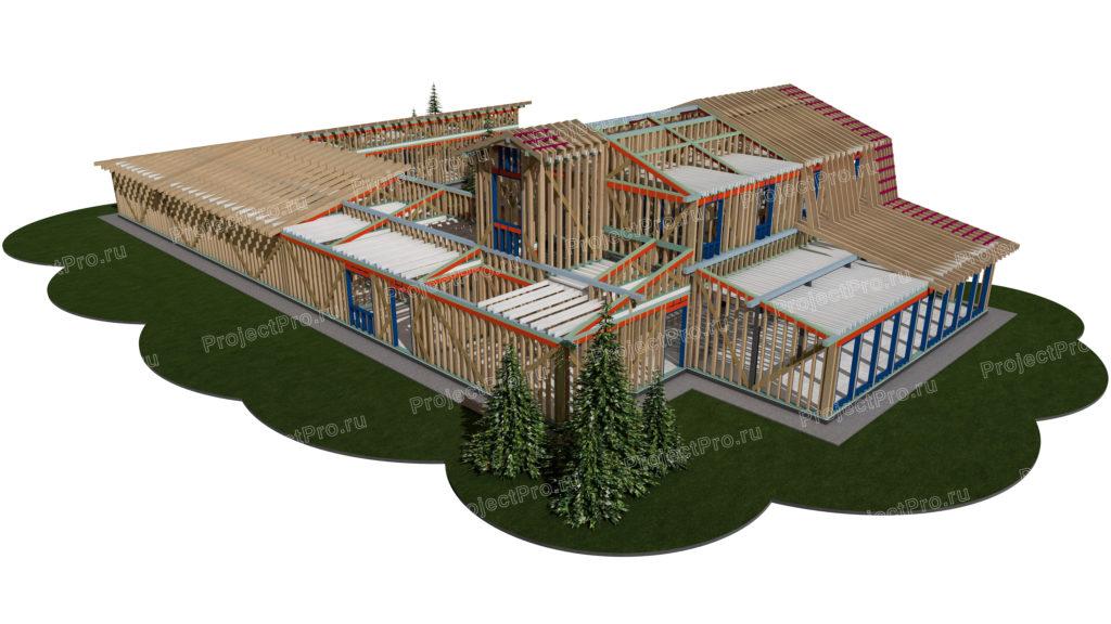 Проект реконструкции эко-отеля